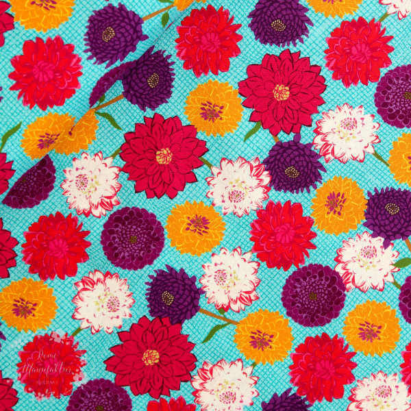 """Bomuld """"Wild about Flowers"""" 20-044"""