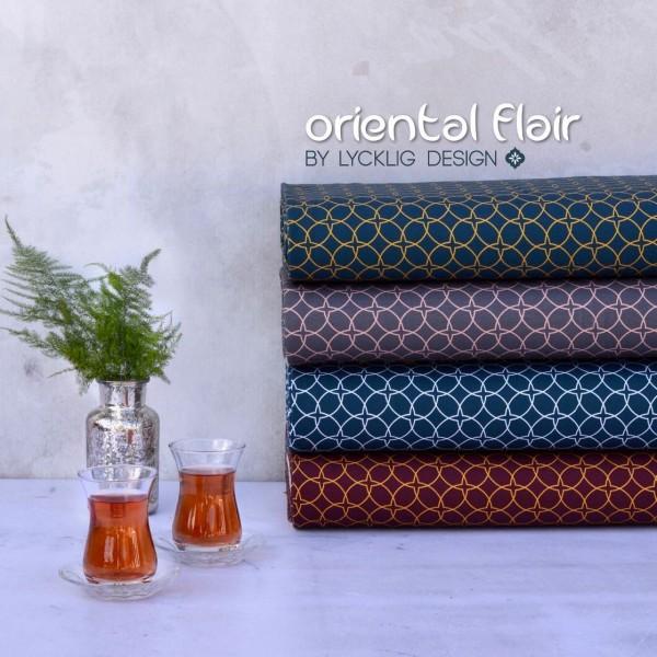 """Bomuldsjersey kollektion """"Oriental Flair"""" by..."""
