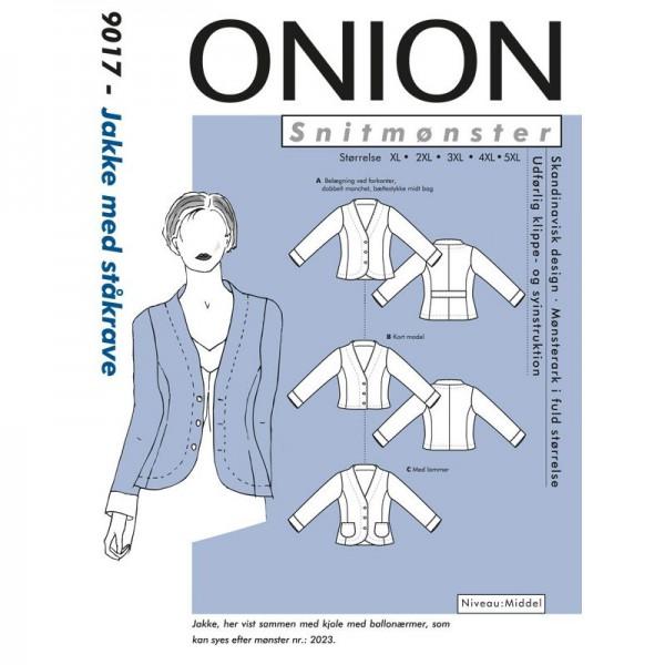 "Snitmønster Onion 9017 ""Jakke med ståkrave""..."