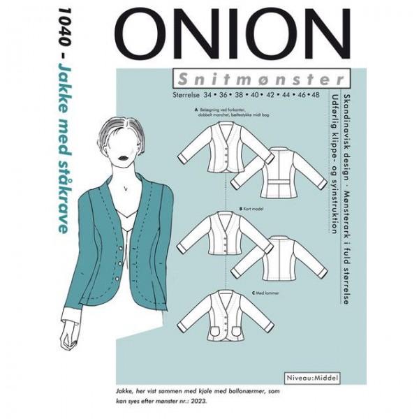 "Snitmønster Onion 1040 ""Jakker med ståkrave""..."