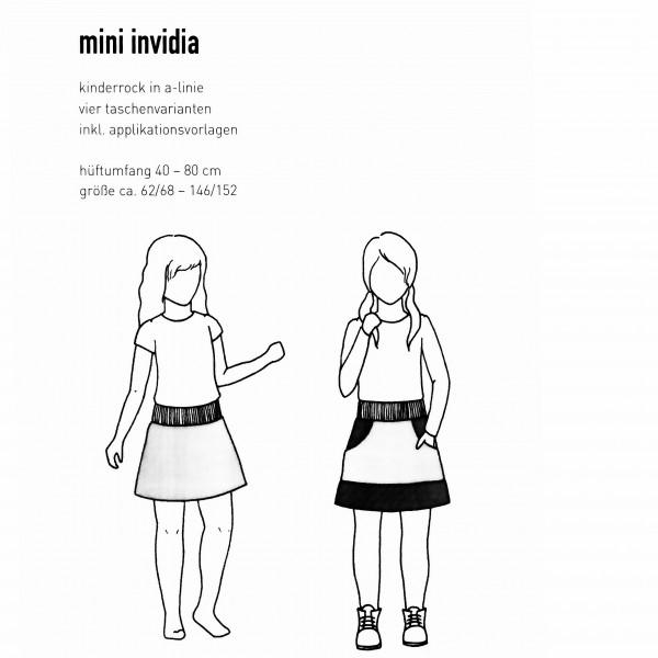 "Snitmønster Børns-Nedderdel ""Mini invidia"" str 62/68 - 146/152 - hofter 40 - 80 cm"