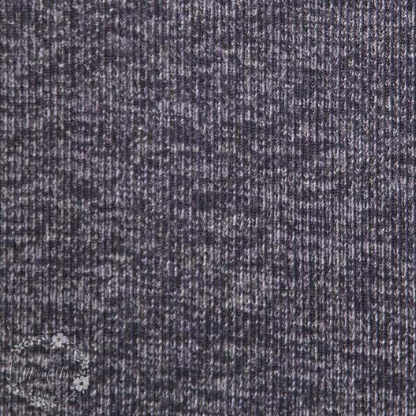 Strik til jakker og trøjer blå-melange