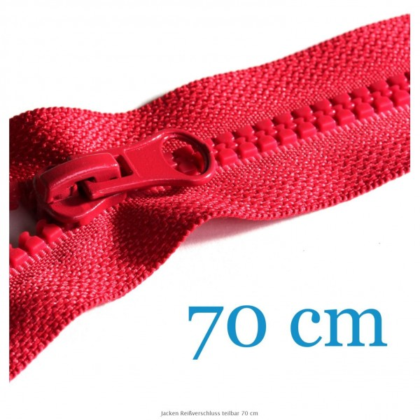 70 cm Lynlås, delbar
