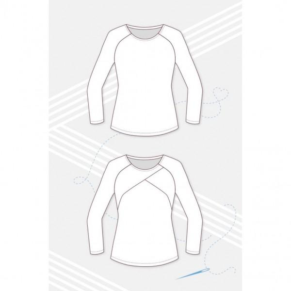 "Symønster Pattydoo Dame-Kjole/Raglan-Shirt ""Mellie"" str 32 - 48"