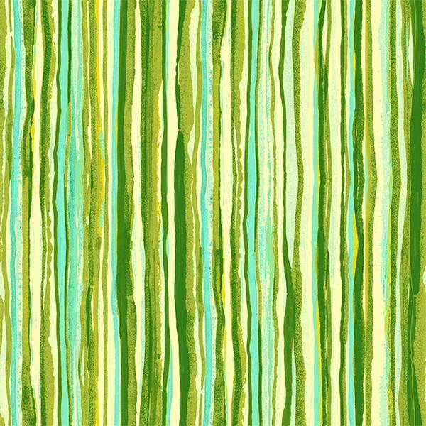 "Bomuld ""Citrus Garden - Fancy Stripes OL4"" by..."