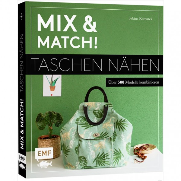 """Bog """"Mix & Match - Taschen nähen"""""""