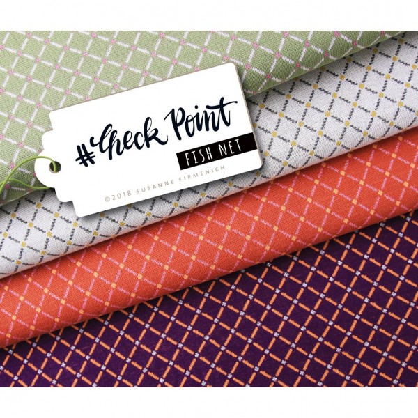 "BIO-Jacquard ""Check Point"" Fishnet"