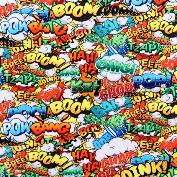 """Bomuldsjersey """"Comicstrip Supermann 2"""" by Fräulein von Julie"""