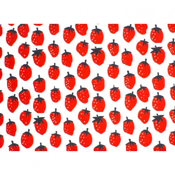 "BIO-Bomuldsjersey ""Lief Strawberry"" by Bora"
