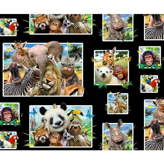 "Bomuld ""Zoo selfies"" by Howard Robinson"