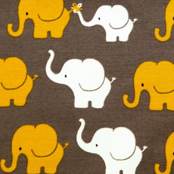 "Bomuldsjersey ""Elefanten-Parade"""