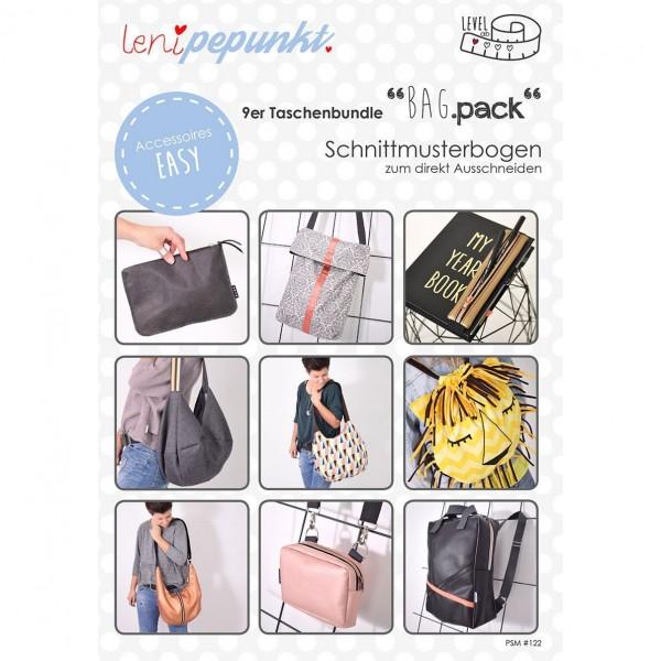 """Snitmønster LeniPePunkt 122 """"BAG.pack"""""""