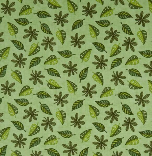 "Bomuld ""Jungle Buddies"" Leaf"
