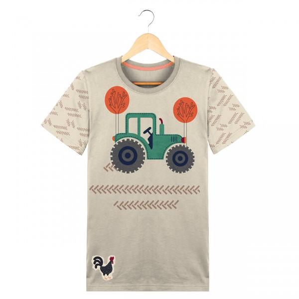 "60 cm Bomuld-Panel ""Traktor"""