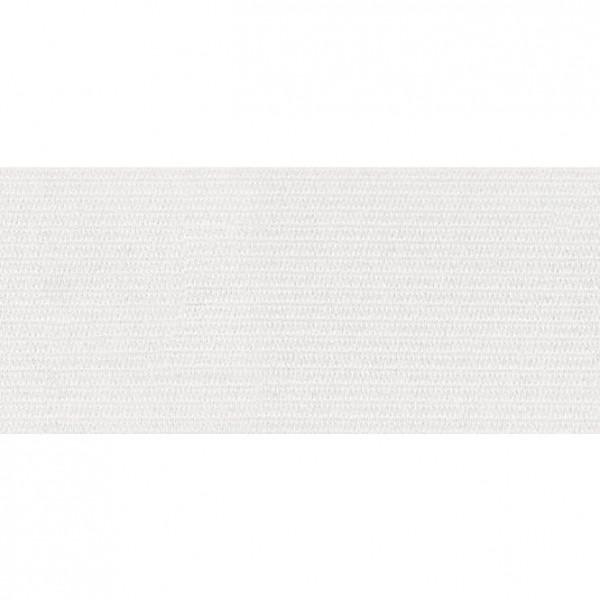 Elastikbånd hvid 40 mm