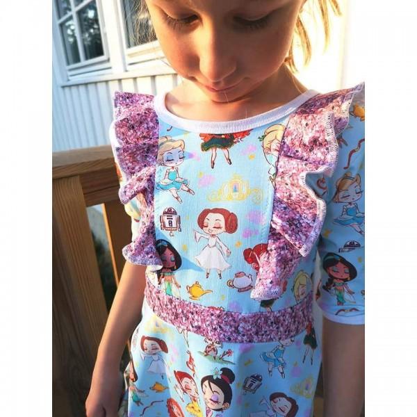 """Snitmønster til børn """"Dress of possibilities"""" str 80 - 164"""