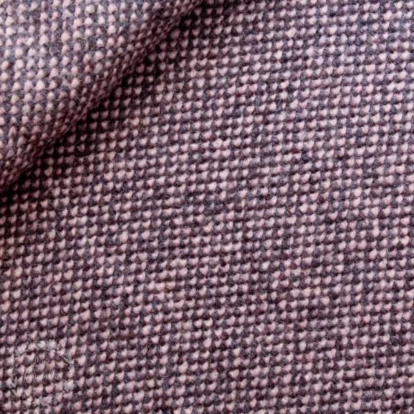 Uldstoff lyserød-grå - Made in Italy