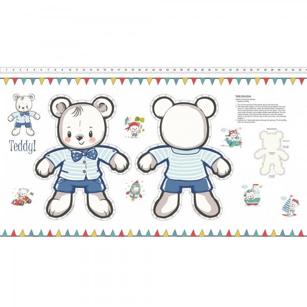 "Bomuld ""Teddys Great Adventures!"" - Teddy"