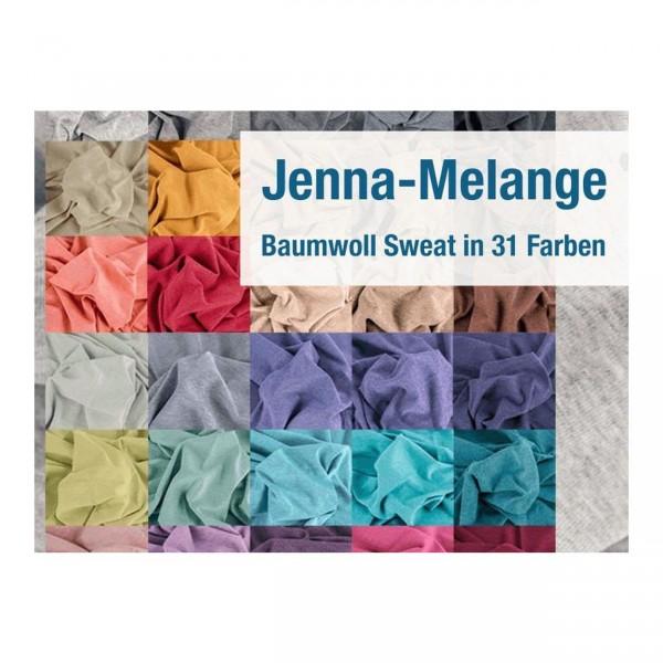 """Bomuldssweat melange """"Jenna"""""""