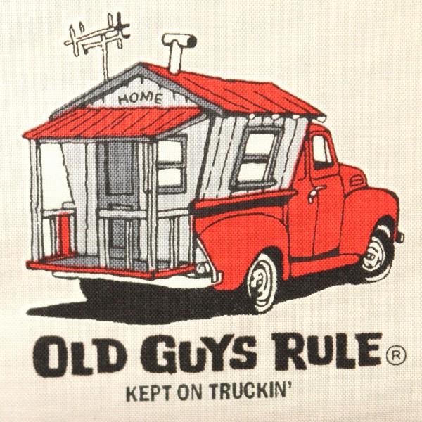 "Bomuld Robert Kaufmanns ""Old Guys Rule"" 18322-12"