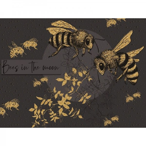 "Modal ""Bees in the moon"" by Tante Gisi"