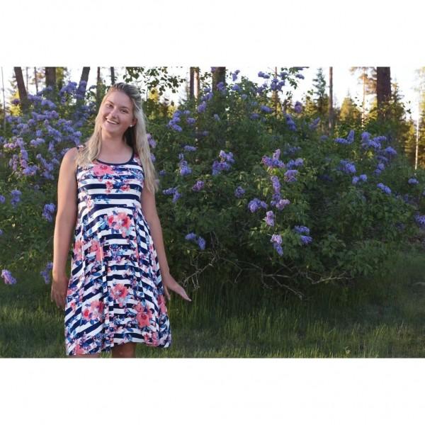 """Snitmønster til kvinder """"Summer Dress"""" str 34 - 58"""