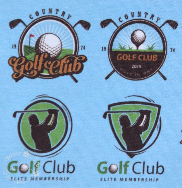 "Bomuldsjersey ""Golf"""