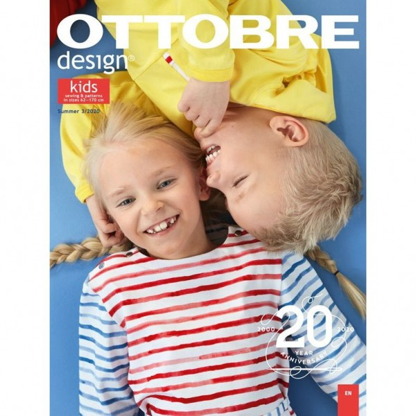 Ottobre Design Kids 3/2020 (engelsk)