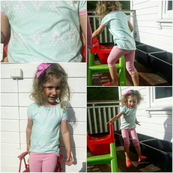"""Snitmønster til børn """"T-Shirt"""" str 80 - 164"""