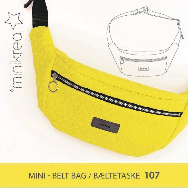 "MiniKrea Snitmønster ""Bæltetaske"" Nr. 107"