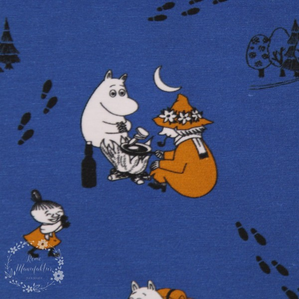 """Moomin-Bomuldsjersey """"På farten"""""""