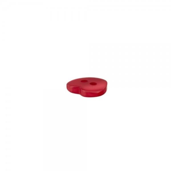 """2-hul-polyester-knap """"Hjertet"""" Ø 12 mm"""