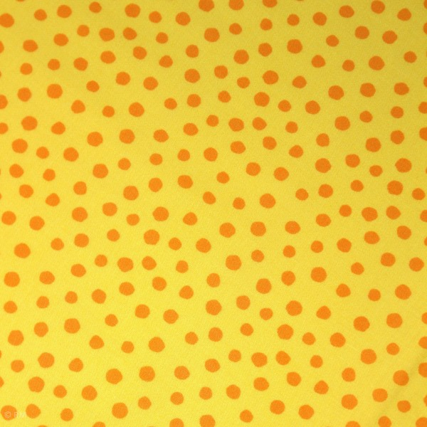 "Bomuld ""Junge Linie"" gul konfetti"