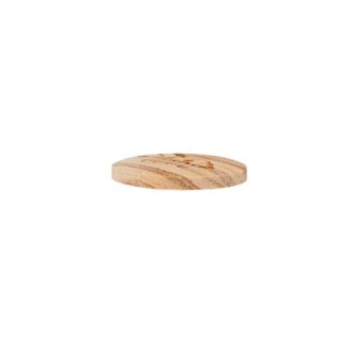 """2-hul-træ-knap """"Hest"""" (15 mm)"""