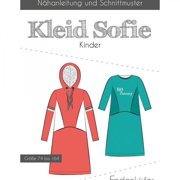 "Snitmønster Kids-Kjole ""Sofie"" str 74 - 164"