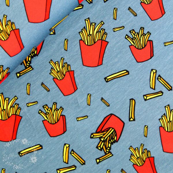 "Bomuldsjersey ""Theo"" Pommes frites"