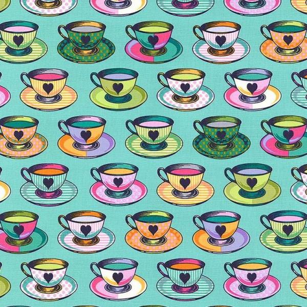 "Bomuld ""Curiouser and Curiouser - 163 Tea Time""..."