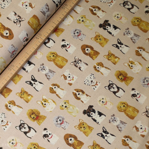 "Canvas fra KOKKA ""Tréfle - Animal World Dog"""