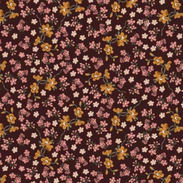 """Bomuldsjersey """"Avalana"""" 19-695 blomster"""