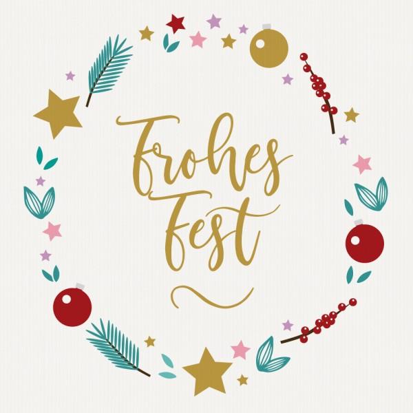 "Gavekort ""Frohes Fest"""
