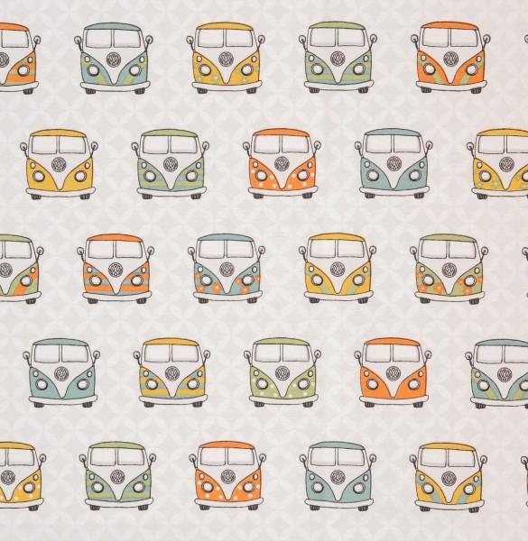 """Dekostof """"Wolfsburg"""" VW-Bus"""