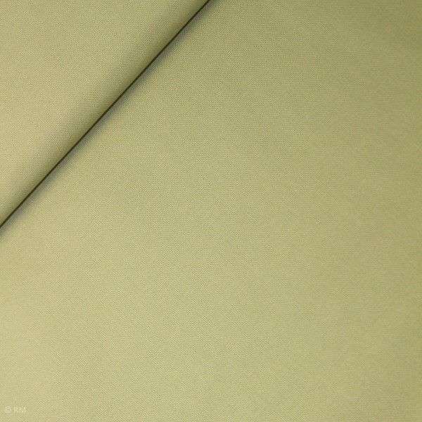 "Bomuld ""Linz"" ensfarvet grøn"