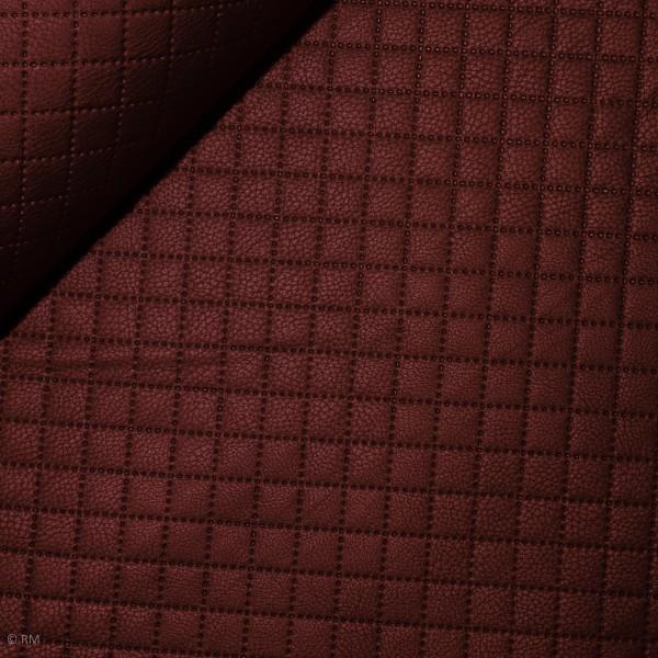"""Læderimitation Jutta"""" rød-brun"""