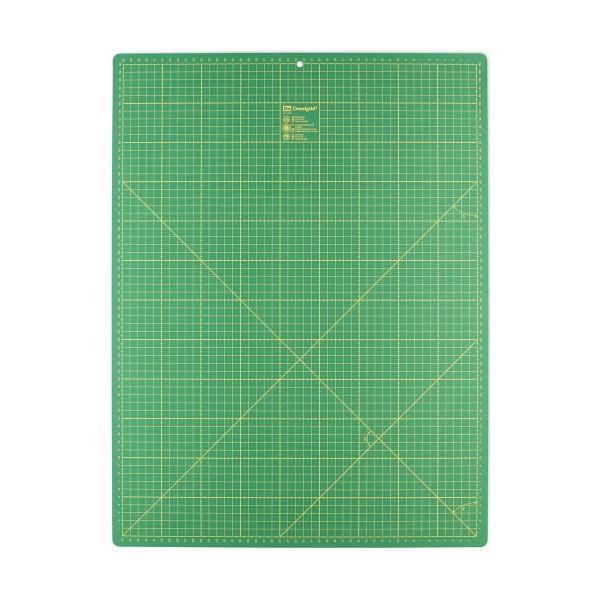 Skæreunderlag fra Prym 45 x 60 cm (inch + cm) mørkegrøn