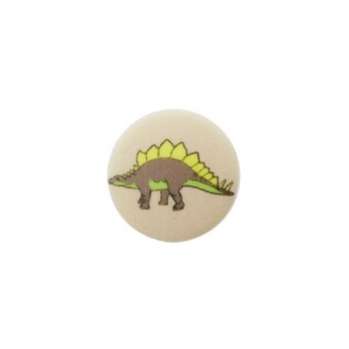 """15 mm Øsken-Knap """"Stegosaurus"""""""