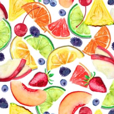 """Bomuld """"MIXology - Fruits"""""""