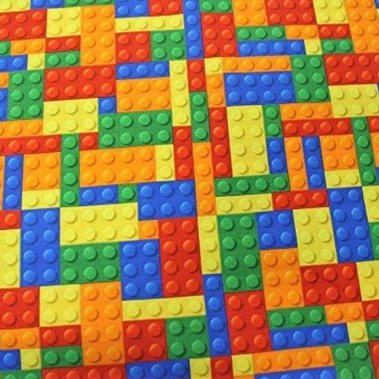 "Bomuldsjersey ""Lego"""