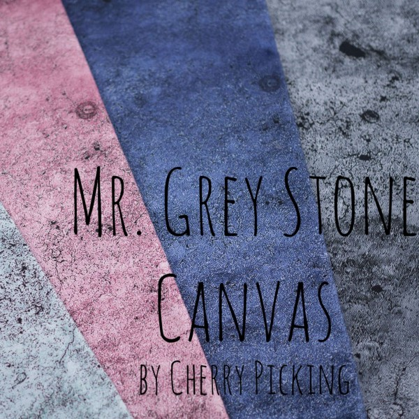 "Canvas kollektion ""Mr Grey Stone"" by Cherry..."