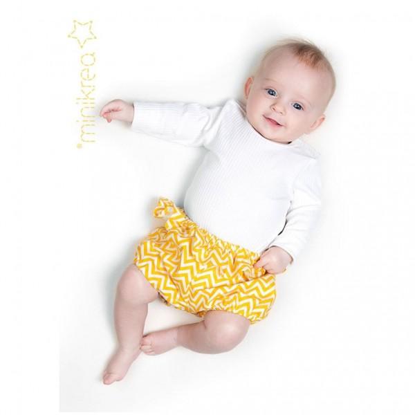 """Snitmønster minikrea 110 """"Baby Bloomers"""" str 0 - 2 Y (50 - 92 cm)"""