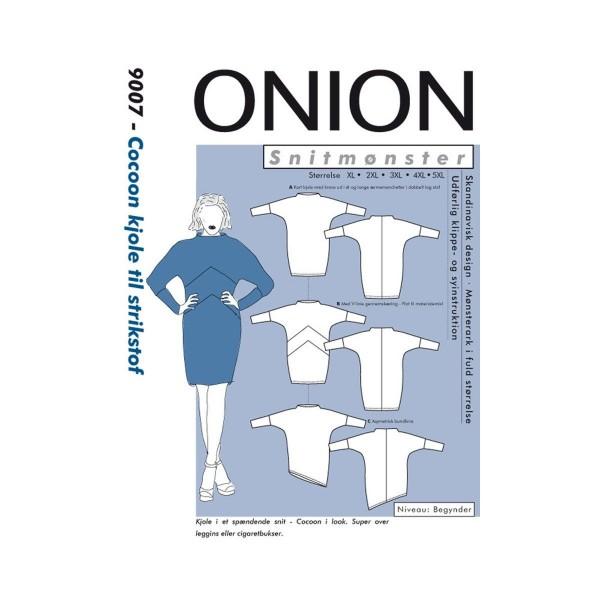"Snitmønster Onion 9007 ""Cocoon kjole til..."